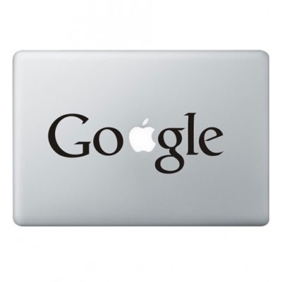 Google Logo Macbook Sticker