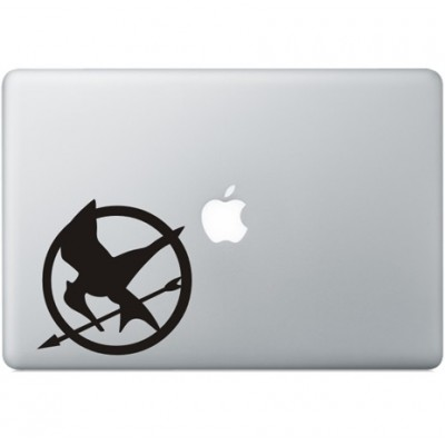 The Hunger Games Macbook Sticker