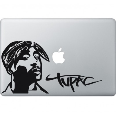 Tupac Shakur Macbook sticker