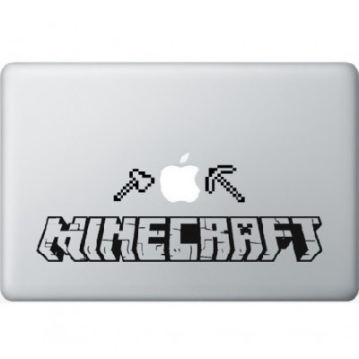 Minecraft Macbook Sticker