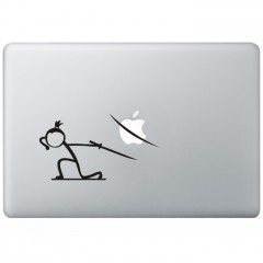Ninja Macbook Sticker