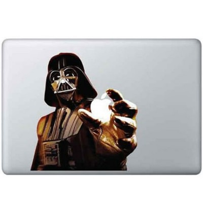 Darthvader Kleur MacBook Sticker