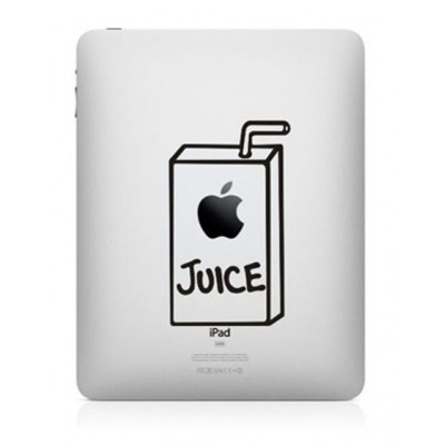 Apple Juice iPad Sticker iPad Stickers