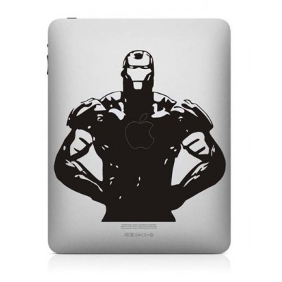 Iron Man iPad Sticker iPad Stickers