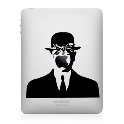 Magritte iPad Sticker