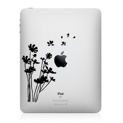 Bloemen iPad Sticker