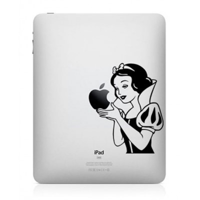 Sneeuwwitje iPad Sticker