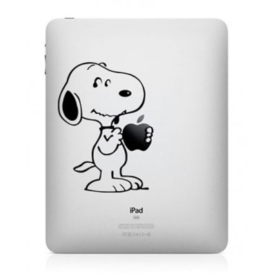 Snoopy iPad Sticker