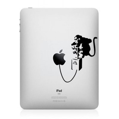 Banksy Aap iPad Sticker iPad Stickers