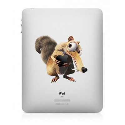 Ice Age Kleur iPad Sticker