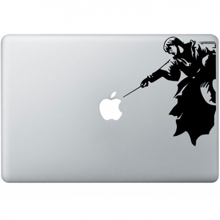 Harry Potter MacBook Sticker Zwarte Stickers