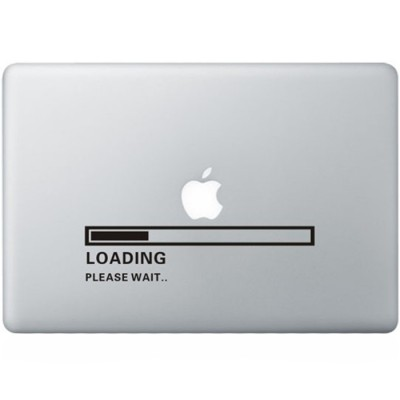 Apple Loading MacBook Sticker