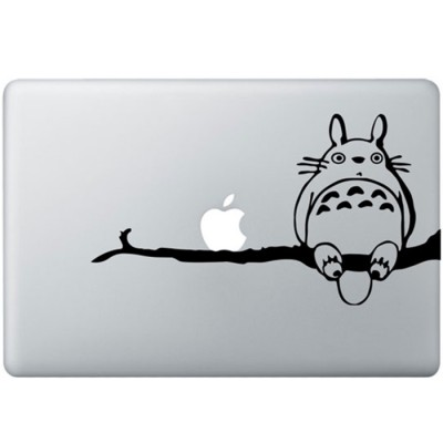 Totoro On Tree MacBook Sticker