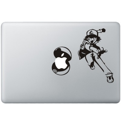 Pokemon MacBook Sticker Zwarte Stickers