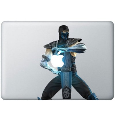 Sub-Zero Kleur MacBook Sticker
