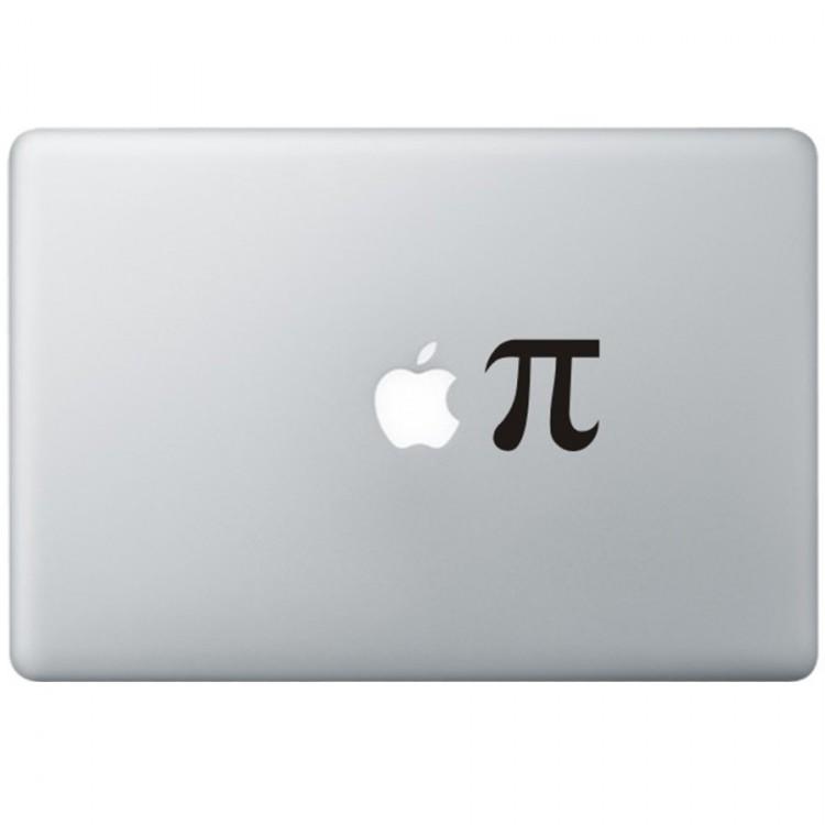 Apple Pie MacBook Sticker Zwarte Stickers