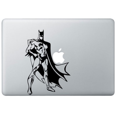 Classic Batman MacBook Sticker Zwarte Stickers