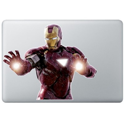 Iron Man (4) Kleur MacBook Sticker