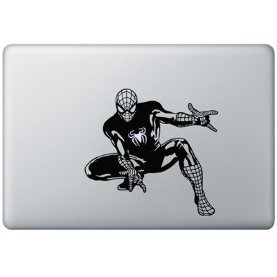 Spiderman MacBook Sticker Zwarte Stickers