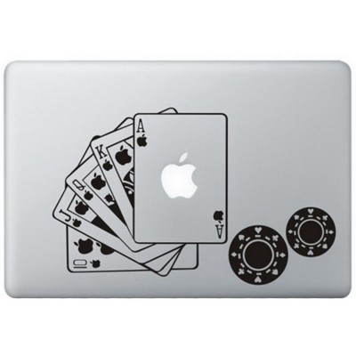 Poker MacBook Sticker