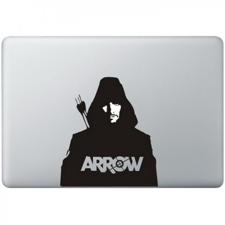 Arrow MacBook Sticker Zwarte Stickers