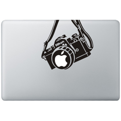 Nikon Vintage Camera MacBook Sticker