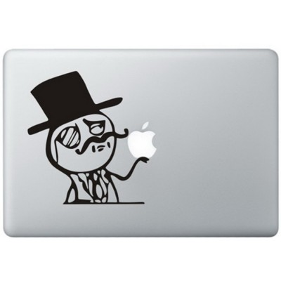 Like A Sir Meme MacBook Sticker