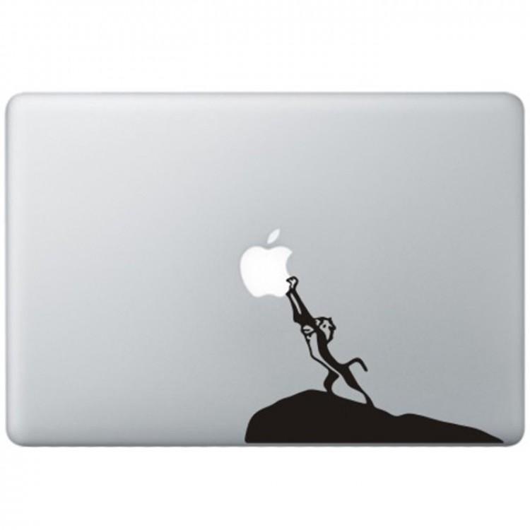 The Lion King MacBook Sticker Zwarte Stickers
