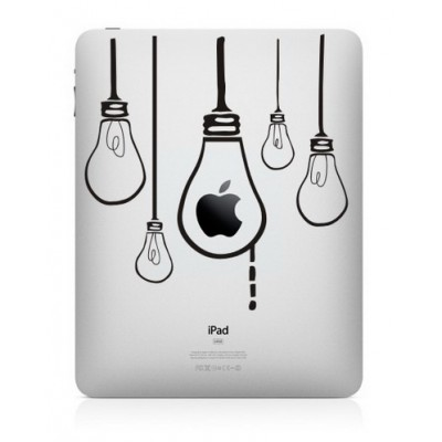 Hangende Lampen iPad Sticker iPad Stickers