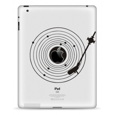 Platenspeler iPad Sticker iPad Stickers