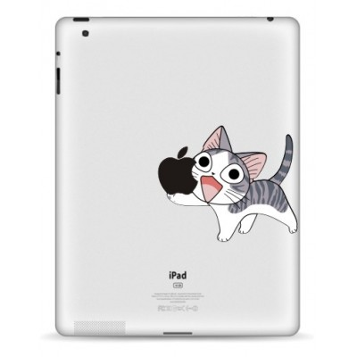 Happy Cat iPad Sticker