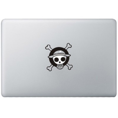 One Piece Monkey MacBook Sticker