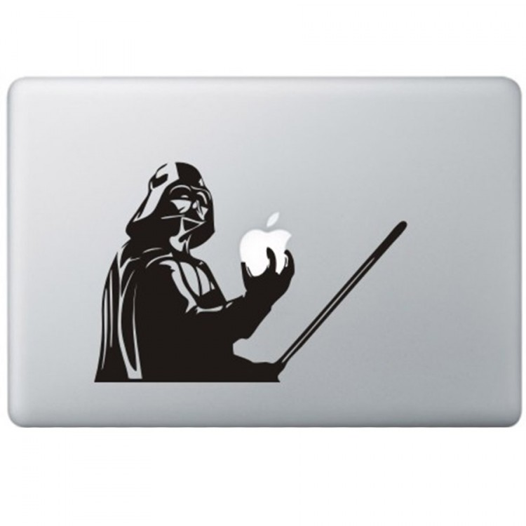 Darth Vader - Star Wars MacBook Sticker Zwarte Stickers