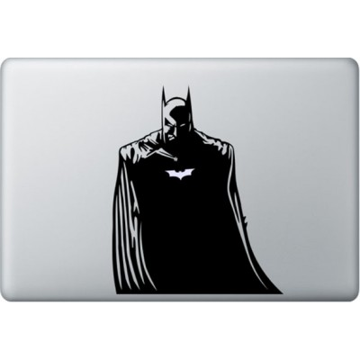 Batman MacBook Sticker Zwarte Stickers