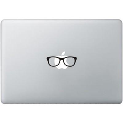 Ray Ban Brill MacBook Sticker Zwarte Stickers