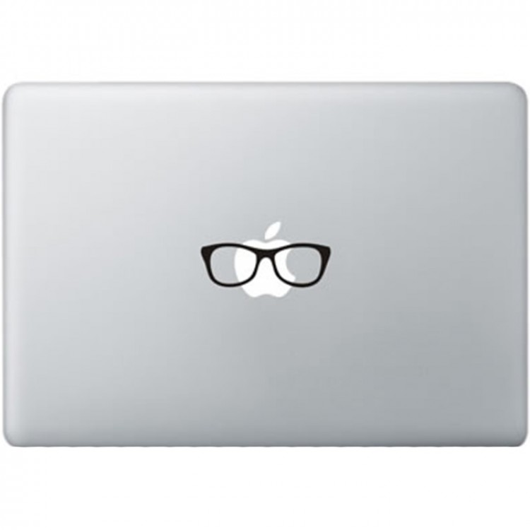 Ray Ban Brill MacBook Sticker Zwarte Stickers