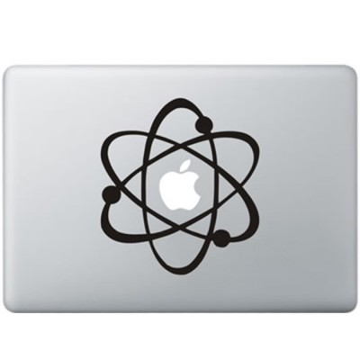 Big Bang MacBook Sticker Zwarte Stickers